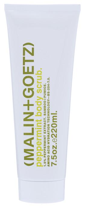 Malin+Goetz Скраб для тела Мята, 220 млMG076Пенящийся скраб для тела Malin+Goetz Мята мягко отшелушивает, очищает и укрепляет кожу. Натуральная мята и аминокислоты увлажняют и отшелушивают кожу. Скраб мягко и эффективно очищает, поддерживая рН-баланс всех типов кожи. Скраб для тела содержит бамбук и порошок пемзы для удаления омертвевшей кожи, стимулирования обновление клеток и смягчения кожи, не вызывая раздражения, сухости или повреждений. Использование скраба облегчает впитывание последующих косметических продуктов. Полностью смывается водой, делая кожу гладкой и увлажненной. Характеристики: Объем: 220 мл. Производитель: США. Товар сертифицирован.