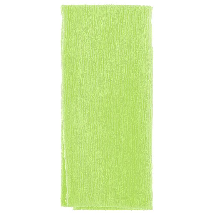 Marna Мочалка Water Color, цвет: зеленыйB438GМочалка Water Color, выполненная из нейлона зеленого цвета, оказывает массирующее воздействие на кожу: стимулирует циркуляцию крови, очищает поры, способствует обмену веществ, происходящему в клетках кожи. Благодаря уникальному переплетению нитей мочалка быстро образует пену при минимальном количестве мыла. Быстро сохнет. Идеальна для поездок и путешествий - легкий вес и форма мочалки позволяет ей легко разместиться в любом багаже. Характеристики: Материал: 100% нейлон. Цвет: зеленый. Размер мочалки: 27 см х 105 см. Артикул: B438G. Товар сертифицирован.