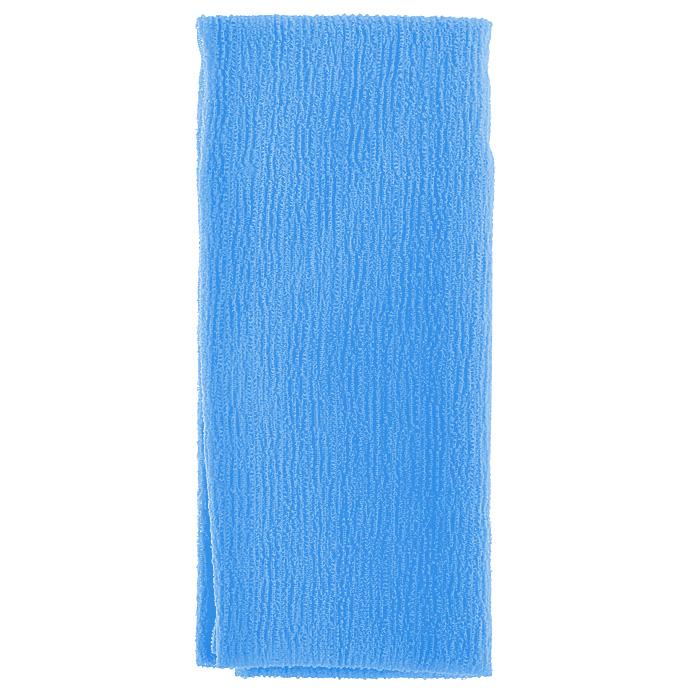 Marna Мочалка Water Color, цвет: синийB438BМочалка Water Color, выполненная из нейлона синего цвета, оказывает массирующее воздействие на кожу: стимулирует циркуляцию крови, очищает поры, способствует обмену веществ, происходящему в клетках кожи. Благодаря уникальному переплетению нитей мочалка быстро образует пену при минимальном количестве мыла. Быстро сохнет. Идеальна для поездок и путешествий - легкий вес и форма мочалки позволяет ей легко разместиться в любом багаже. Характеристики: Материал: 100% нейлон. Цвет: синий. Размер мочалки: 27 см х 105 см. Артикул: B438B. Товар сертифицирован.