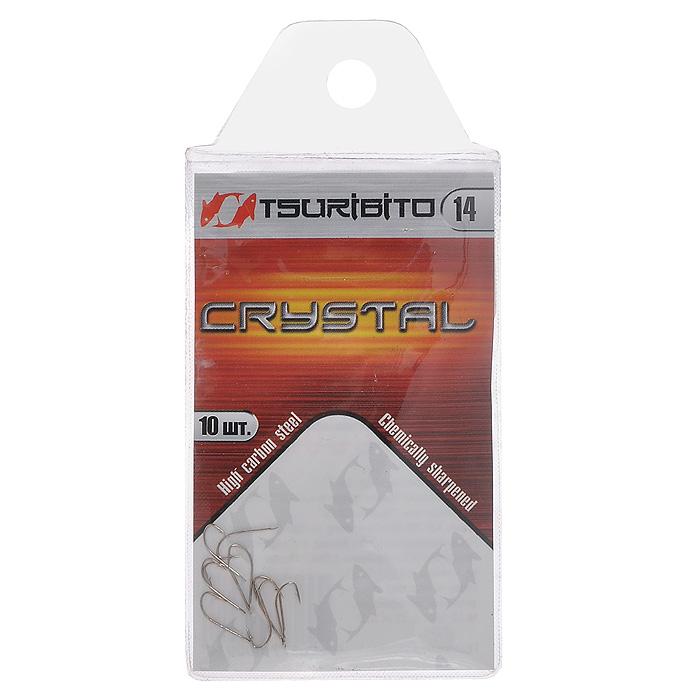 Крючок рыболовный Tsuribito Crystal, №14, 10 шт. 3462734627Одинарный рыболовный крючок Tsuribito Crystal с головкой лопаточкой станет незаменимым аксессуаром для ловли мирных видов рыбы. Крючок - одна из главных составляющих рыболовного комплекта, поэтому важно уметь правильно выбрать его и оснастить удилище. Характеристики: Материал: никель. Номер крючка: 14. Длина крючка: 0,11 см. Ширина крючка: 0,4 см. Количество: 10 шт. Размер упаковки: 10,5 см х 5 см х 0,2 см. Производитель: Корея. Артикул: 34627.