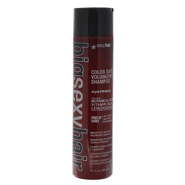 Sexy Hair Шампунь Big для дополнительного объема волос, 300 млОБ26Шампунь Sexy Hair Big хорошо очищает волосы. Волосы становятся более упругие, более податливы в укладке и заметно более устойчивы. Рекомендуется использовать не чаще 1-2-х раз в неделю, так как владеет очищающими качествами. Характеристики: Объем: 300 мл. Производитель: США. Товар сертифицирован.