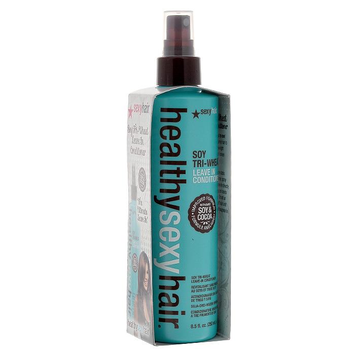 Sexy Hair Кондиционер для волос Healthy, несмываемый, 250 млЗД17Три протеина пшеницы обволакивают волосы, закрывая кутикулы, что обеспечивает легкое расчесывание. Протеины сои глубоко проникают в волосы, активно питают, укрепляют и увлажняют их, предохраняя от негативного воздействия солнечных лучей и окружающей среды. Укрепляет, смягчает и моментально распутывает волосы, защищает от статического электричества. Наносить на влажные волосы после мытья шампунем, приподнимая пряди. Не смывать. Характеристики: Объем: 250 мл. Производитель: США. Товар сертифицирован.