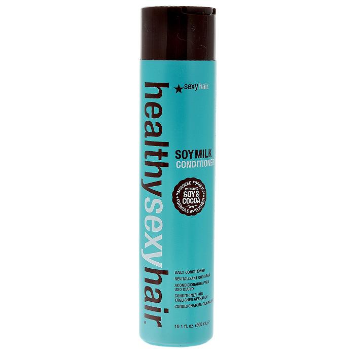 Sexy Hair Кондиционер Healthy на соевом молоке, для окрашенных волос, 300 млЗД13Кондиционер Sexy Hair Healthy восстанавливает утерянные аминокислоты, увлажняет, облегчает расчесывание. Делает волосы сильными, мягкими и послушными. Защищает от воздействия солнечных лучей, помогает сохранить цвет окрашенных волос. Успокаивает и питает. Подходит для всех типов волос, особенно рекомендован для сухих, поврежденных, окрашенных и химически обработанных волос. Характеристики: Объем: 300 мл. Производитель: США. Товар сертифицирован.