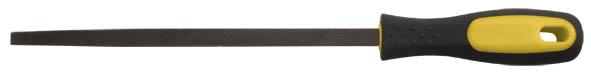 Напильник по металлу FIT, полукруглый, 200 мм42591Напильник по металлу FIT с личной насечкой изготовлен из высококачественной инструментальной стали. Эргономичная двухкомпонентная ручка, будет удобна при работе с инструментом и не позволит ему выскользнуть из рук. Характеристики: Материал: сталь, пластик, резина. Длина напильника: 20 см. Длина ручки: 11 см. Размер упаковки: 31 см х 5 см х 3,5 см.