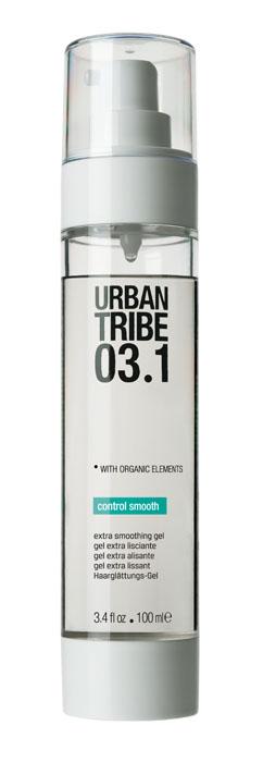 Urban Tribe Гель Control Smooth для укладки волос, разглаживающий, 100 мл52197Гель Urban Tribe Control Smooth - правильный выбор для создания эффекта идеально прямых волос. Выпрямляет волосы, эффективно разглаживая кутикулу. Волосы прямые и легко расчесываются. Придает максимальный блеск и влагоустойчивость, оставляя волосы послушными, гладкими и шелковистыми. Разглаживающий полимер имеет сильное выравнивающее действие, волосы легко расчесываются и стойки к воздействию влажности, сохраняя эффект памяти укладки в течение 7 дней. Ухаживающие ингредиенты увлажняют и придают мягкость волосам, выпрямляя непослушные локоны и устраняя статическое электричество. Органические, эко-сертифицированные элементы оказывают увлажняющее, ухаживающее и антиоксидантное действие.