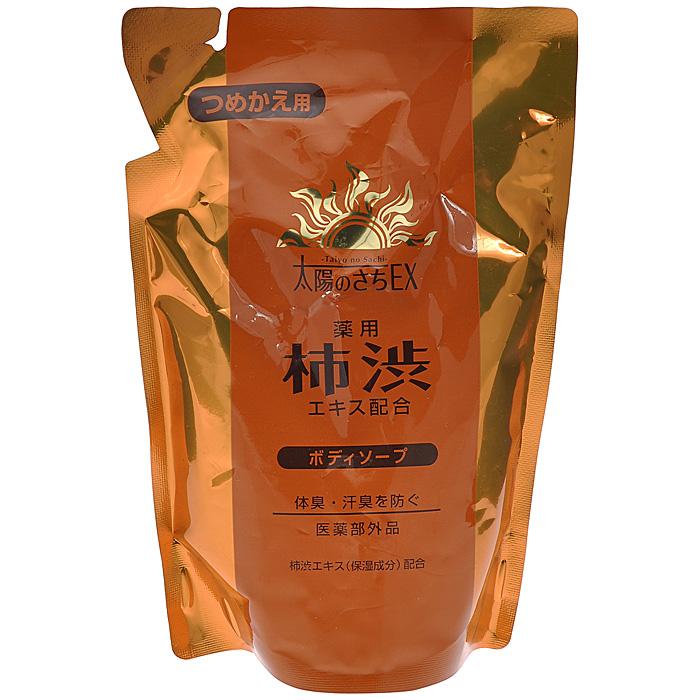 Max Жидкое мыло для тела, с экстрактом хурмы, запасной блок, 400 млMP59.4DВ состав мыла Max входит экстракт хурмы, содержащий антиоксиданты и витамины А, С, Р , Е, а также танин, обладающий ранозаживляющим и антибактериальным действием.Активные компоненты средства - розмарин, шалфей, базилик японский оказывают противовоспалительное, тонизирующее, сильное антиоксидантное действие, нормализуют деятельность сальных желез, замедляют и уменьшают процесс выработки кожного сала, сужают кожные поры. Действующий компонент мыла изопропилметилфенол препятствует размножению микроорганизмов, вызывающих появление неприятного запаха.Парфюмерная композиция на основе ментола создает ощущение свежести во время принятия душа. Характеристики:Объем: 400 мл. Артикул: 34060. Производитель: Япония. Товар сертифицирован.