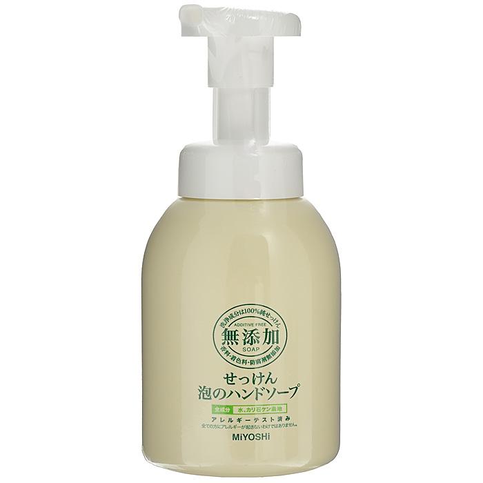 Miyoshi Пенящееся жидкое мыло для рук, на основе натуральных компонентов, 250 мл 100677