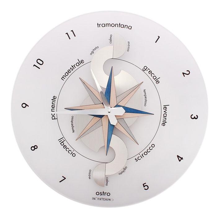 """Incantesimo Design Часы настенные """"Млечный путь"""", кварцевые. 654290"""