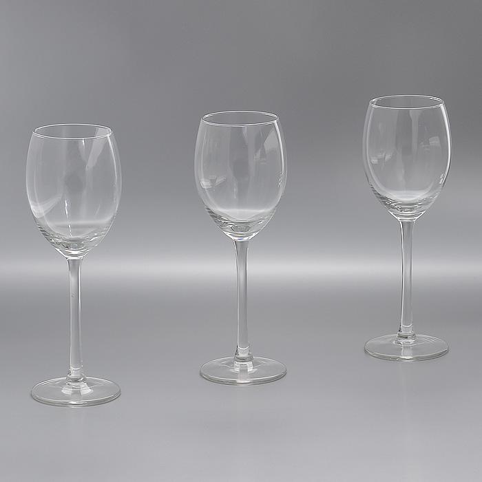 Набор бокалов Style, 250 мл, 3 штГл 678253Набор Style, выполненный из высококачественного стекла, состоит из трех бокалов на высокой ножке. Бокалы предназначены для подачи различных напитков. Набор оценят как любители классики, так и те, кто предпочитает современный дизайн. Набор бокалов Style идеально подойдет для сервировки стола и станет отличным подарком к любому празднику. Характеристики: Материал: стекло. Комплектация: 3 шт. Объем: 250 мл. Диаметр бокала по верхнему краю: 5,8 см. Высота бокала: 20,5 см. Диаметр основания: 6,8 см. Артикул: Гл 678253.