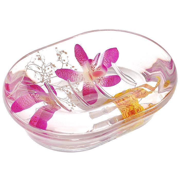 Мыльница Орхидея337-04Оригинальная мыльница Орхидея, изготовленная из прозрачного пластика, отлично подойдет для вашей ванной комнаты. Внутри мыльницы гелиевый наполнитель с фиолетовыми и желтыми орхидеями. Такая мыльница создаст особую атмосферу уюта и максимального комфорта в ванной Характеристики: Материал: пластик, акрил, гелиевый наполнитель. Цвет: белый, фиолетовый, желтый. Размер мыльницы: 13,5 см х 10 см х 3,5 см. Производитель: Швеция. Изготовитель: Китай. Размер упаковки: 14,5 см х 10,5 см х 4 см. Артикул: 337-04.