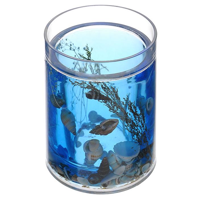 Стакан Лагуна336-01Стакан Лагуна, изготовленный из прозрачного пластика, отлично подойдет для вашей ванной комнаты. Внутри стакана синий гелиевый наполнитель с морской звездой, ракушками и веточками. Стакан создаст особую атмосферу уюта и максимального комфорта в ванной. Характеристики: Материал: пластик, акрил, гелиевый наполнитель. Цвет: синий, белый, черный. Диаметр стакана по верхнему краю: 7 см. Высота стакана: 10,5 см. Производитель: Швеция. Изготовитель: Китай. Размер упаковки: 8,5 см х 8,5 см х 12,5 см. Артикул: 336-01.