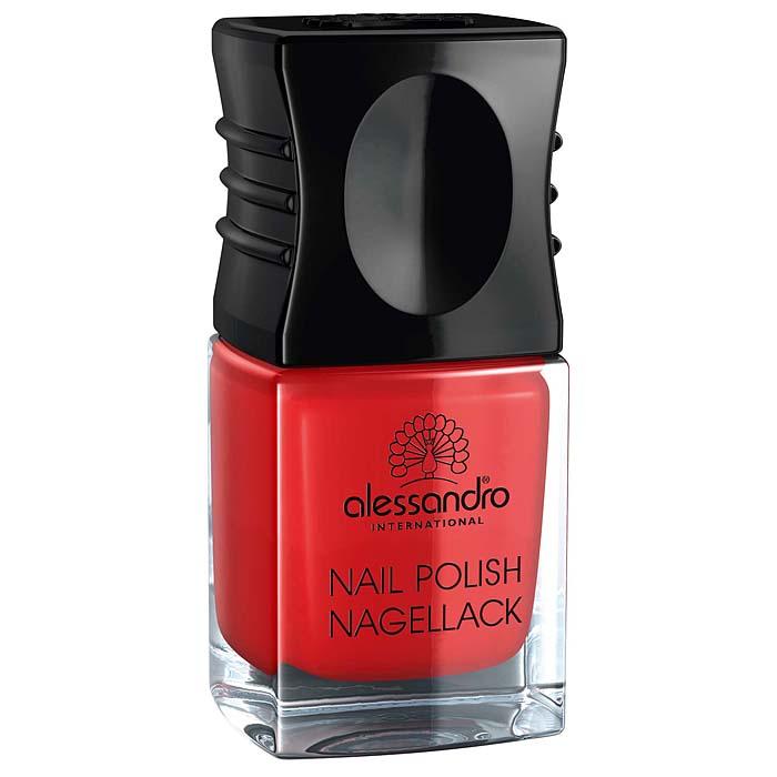 "Alessandro Лак для ногтей ""Nagellack. Цветущий мак"", 10 мл 77-112"
