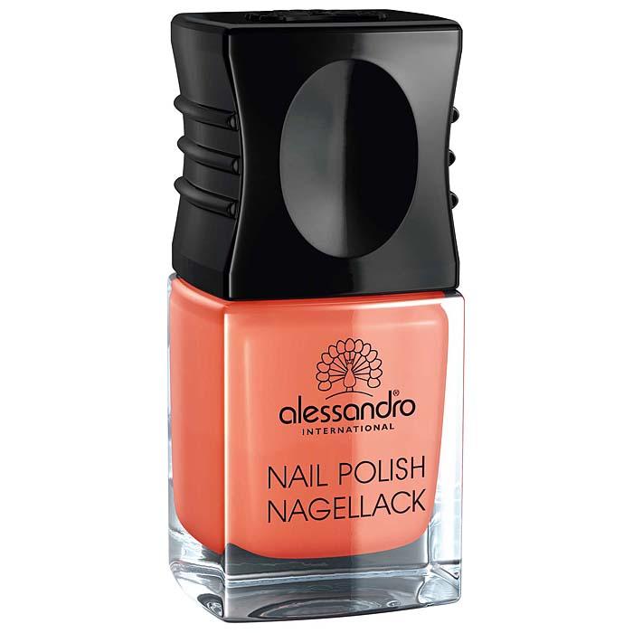 "Alessandro Лак для ногтей ""Nagellack. Морковный фреш"", 10 мл 77-115"