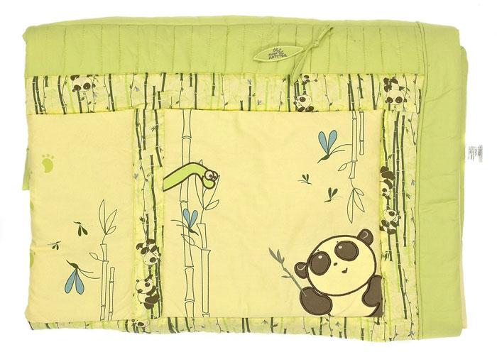 """Одеяло детское """"Мир детства"""", цвет: желтый, зеленый, 118 см х 118 см 5093006/76/009"""