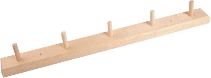 Вешалка Доктор Баня горизонтальная, 5 крючковUP210DFГоризонтальная вешалка Доктор Баня изготовлена из натурального дерева березы. На вешалку можно вешать полотенца или любые другие вещи. Она будет отлично смотреться в бане, сауне или любом другом помещении.Вешалка не имеет готового крепежа или отверстий для шурупов. Характеристики: Материал: дерево (береза). Размер вешалки (Д х Ш х Г): 48 см х 4,5 см х 2,5 см. Длина крючка: 3,5 см. Артикул: 904451.