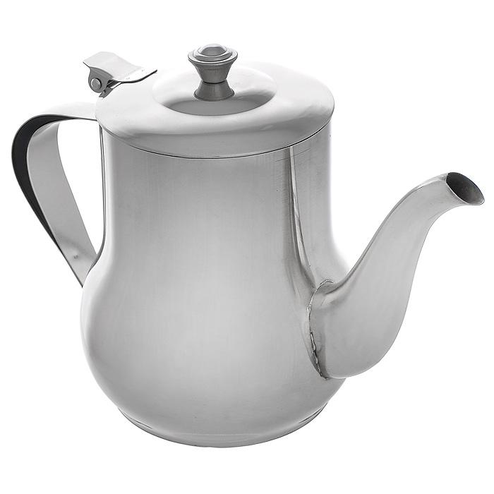 Чайник заварочный Mayer & Boch с фильтром, 1 л. MB-403MB-403Заварочный чайник выполнен из высококачественной нержавеющей стали, что делает его весьма гигиеничными и устойчивыми к износу при длительном использовании. Гладкая и ровная поверхность существенно облегчает уход. Выполненный из качественных материалов чайник при кипячении сохраняет все полезные свойства воды. Чайник имеет вынимающийся фильтр и крышку из нержавеющей стали. Ручка чайника изготовлена из пластика. Чайник Mayer & Boch подходит для использования на электрических, газовых и стеклокерамических плитах. Также изделие можно мыть в посудомоечной машине. Характеристики: Материал: нержавеющая сталь, пластик. Объем: 1 л. Диаметр основания чайника: 9 см. Высота чайника (с учетом ручки): 15,5 см. Диаметр чайника по верхнему краю: 9 см. Высота стенок чайника: 12,5 см. Размер упаковки: 18,5 см х 12 см х 15,5 см. Артикул: MB-403.