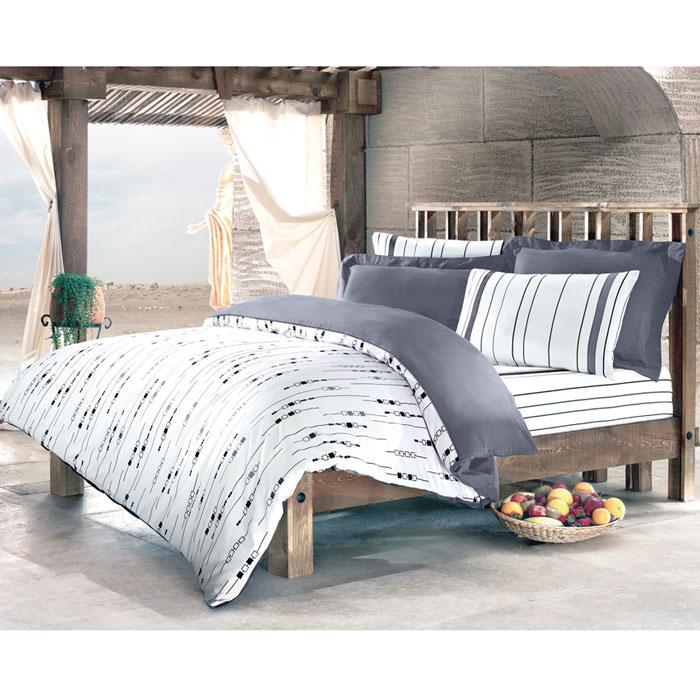 Комплект белья Tete-a-tete Николетта (1,5 спальный КПБ, сатин премиум, наволочки 70х70), цвет: белый. Т-0042-01Т-0042-01_1,5-спальныйКомплект постельного белья Николетта является экологически безопасным для всей семьи, так как выполнен из натурального хлопка. Комплект состоит из пододеяльника, простыни и двух наволочек. Постельное белье оформлено оригинальным рисунком и имеет изысканный внешний вид. Все предметы комплекта цельнокроеные. Вас поразит необыкновенная тонкость, почти воздушная легкость и невероятная шелковистость этой специальной ткани, которая еще усилится после стирки. Ненавязчивые цвета хорошо примут наложение любого другого оттенка, при любом освещении. Ваша постель будет выглядеть безупречно. Наволочки имеют клапан без пуговиц и молнии. Пододеяльник имеет молнию на нижнем конце. Молния имеет фиксаторы, не позволяющие расстегиваться ей до самого конца, а сама она очень прочная и состоит из одной эргономичной детали, что не позволит ей сломаться легко. Сатин - производится из высших сортов хлопка, а своим блеском, легкостью и на ощупь напоминает шелк. Такая ткань рассчитана на 200...