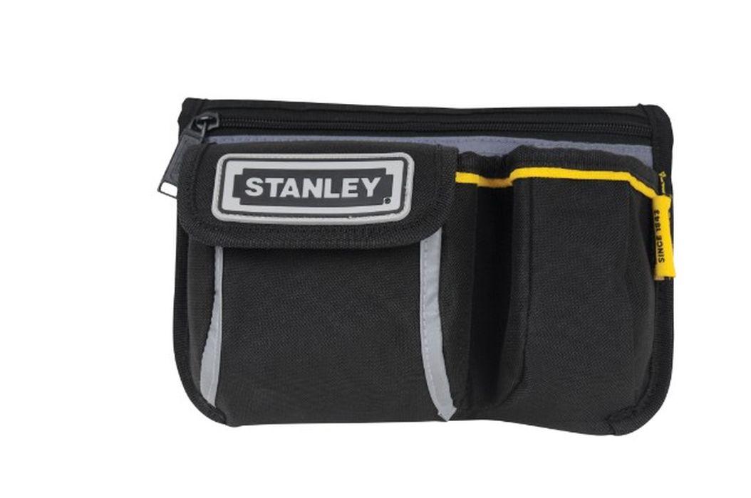 Сумка поясная Stanley Basic Personal Pouch1-96-179Сумка поясная Basic Stanley Personal Pouch- удобная сумка для личных вещей и принадлежностей. Изготовлена из износостойкой ткани. Большое отделение на молнии. Отлично подходит для необходимых вещей - бумажника, ключей, карты. Надежная защита личных вещей и принадлежностей. Карман для навигатора GPS или мобильного телефона. Может использоваться с ремнями различного размера Характеристики: Материал: полиэстер. Размеры сумки: 24 см х 6 см х 15,5 см. Размеры упковки: 24 см х 16 см х 3 см.