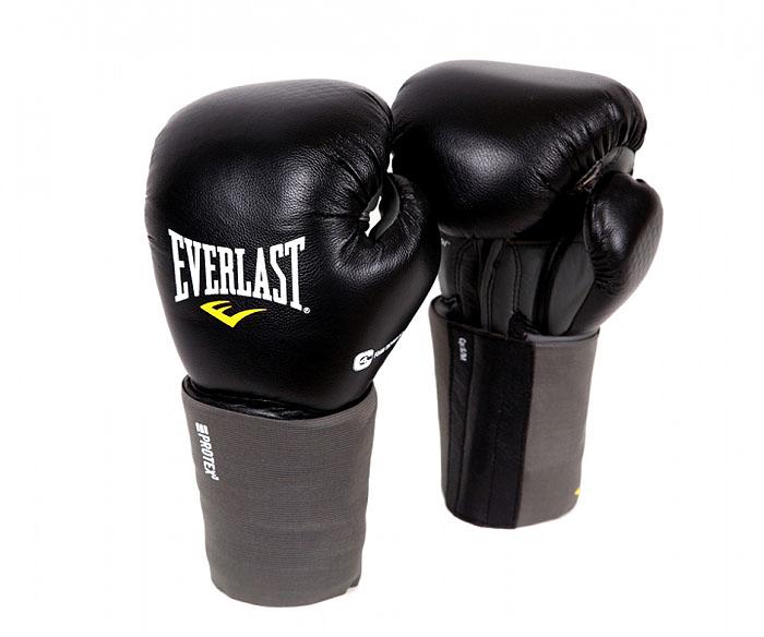 """Перчатки Everlast """"Protex3 """", 14 унций, цвет: черный. Размер L/XL 111401LXLU"""