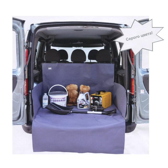 Накидка защитная в багажник автомобиля Comfort Address, цвет: серый, 105 см х 115 см х 75 см. daf 022 Sdaf 022 SНакидка Comfort Address выполнена из прочного водоотталкивающего материала и предназначена для перевозки различных грузов в багажнике автомобиля. Накидка защищает дно, боковые стенки багажника и спинки задних сидений от грязи и повреждений. Дополнительная накидка защитит бампер от царапин во время загрузки. Накидка быстро и легко одевается, не мешает откидыванию задних сидений. Подходит для любых типов и размеров багажников. Характеристики: Материал: ПВХ. Цвет: серый. Ширина: 105 см. Глубина: 75 см. Высота фронтального борта: 75 см. Высота боковых бортов: 45 см. Защита на бампер: 105 см х 40 см. Размер упаковки: 34 см х 45 см х 3 см. Артикул: daf 022 S.