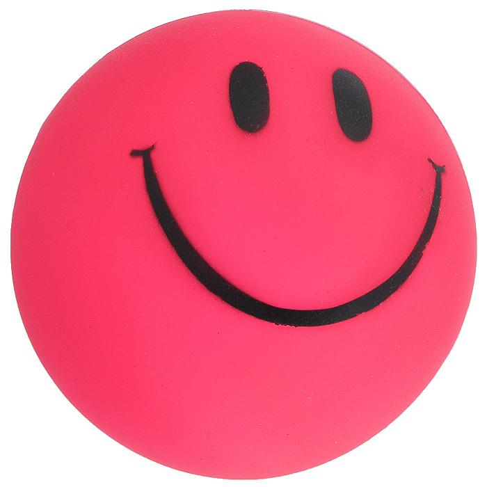 Игрушка для собак Ziver Мяч Смайлик, с пищалкой, цвет: розовый, диаметр 7 см0120710Игрушка для собак Ziver Мяч Смайлик изготовлена из винила и латекса с использованием только безопасных, не токсичных красителей. Мяч розового цвета оформлен забавным улыбающимся смайлом. Игрушка при надавливании или захвате пастью пищит. Привлечет внимание вашего любимца, позволит весело провести ему время, не навредит здоровью, а также поможет вам сохранить в целости личные вещи и предметы интерьера.Диаметр мяча: 7 см.