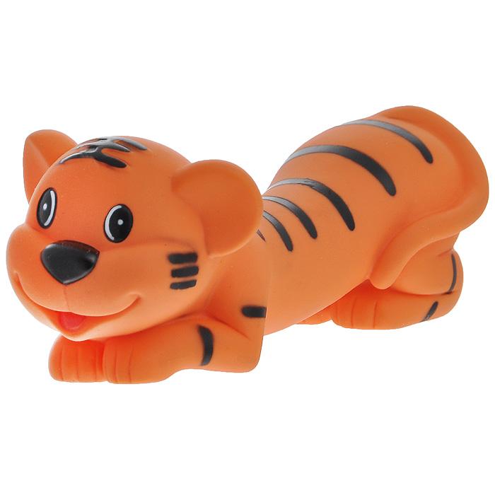 Игрушка для собак Ziver Тигр папа, с пищалкой, цвет: оранжевый, длина 16 см0120710Игрушка для собак Ziver Тигр папа изготовлена из винила и латекса с использованием только безопасных, не токсичных красителей. Забавный лежащий тигр при надавливании или захвате пастью пищит. Привлечет внимание вашего любимца, позволит весело провести ему время, не навредит здоровью, а также поможет вам сохранить в целости личные вещи и предметы интерьера.Размер: 16 см х 6 см х 6 см.