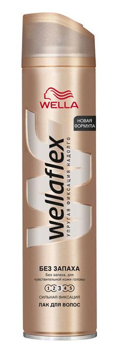 Wellaflex Лак для волос, без запаха, сильная фиксация, 250 млWF-81145215Лак для волос Wellaflex благодаря микрораспылению равномерно распределяется и глубоко проникает в прическу, придавая ей 3 признака естественной, упругой укладки: Не склеивает волосы; Еще больше упругости для свободы движения волос; Длительная фиксация до 24 часов. Бережное действие формулы без запаха на кожу головы подтверждено дерматологическими исследованиями. Быстро высыхает и не сушит волосы. Легко удаляется при расчесывании. Помогает защитить волосы от УФ-лучей. Характеристики: Объем: 250 мл. Производитель: Германия. Товар сертифицирован.