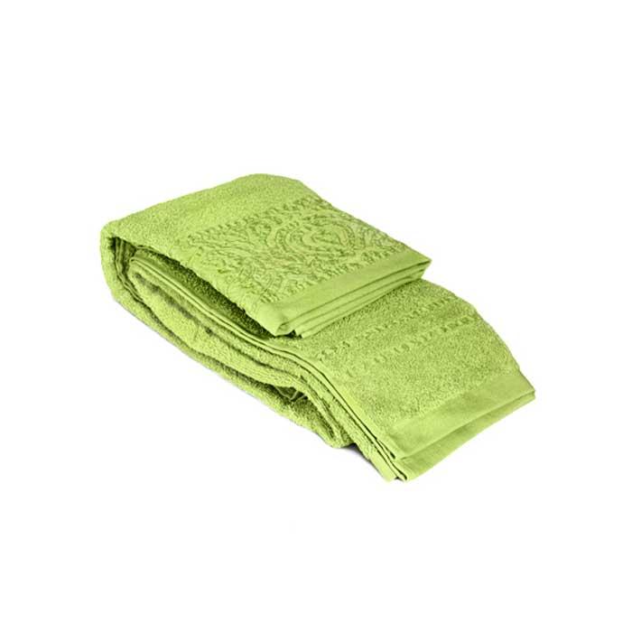 "Полотенце махровое ""Tete-a-Tete"", цвет: зеленый, 70 х 140 см Т-МП-6459-02-08"