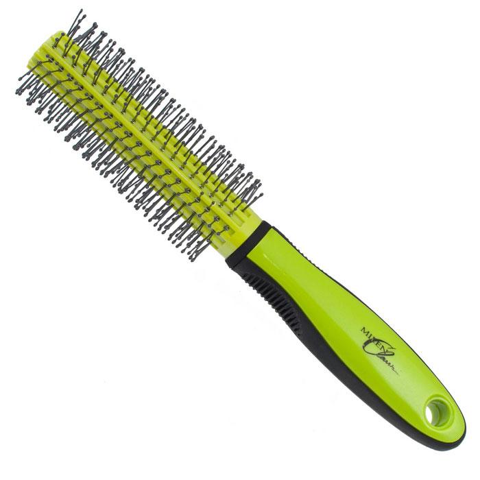 Milen Classik Брашинг. 330-Z432111330-Z432111Брашинг Milen Classik для укладки волос изготовлен из термостойкого пластика с антистатическими зубцами. Благодаря продуманному дизайну расческа очень удобна в использовании. Окончания зубцов имеют шарообразную форму, что позволяет производить легкий массаж головы, снимая напряжение и не раздражая кожу головы. Характеристики: Материал: пластмасса. Длина расчески: 22 см. Длина зубцов: 1 см. Общий диаметр расчески: 4 см. Производитель: Германия. Артикул: 330-Z432111. Товар сертифицирован.
