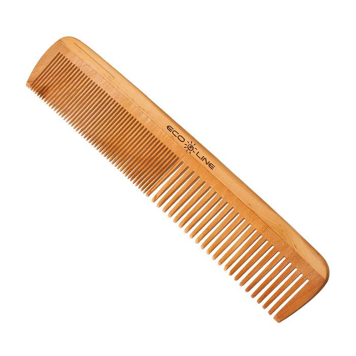 Eco Line Гребень, карманный. 350-B1135MN 14_перламутровый, розовая лентаГребень Eco Line для волос из дерева и бамбука более прочные, легкие и долговечные. Они прекрасно подходят как для профессионального, так и для домашнего применения. Дерево является самым экологическим чистым материалом. Натуральные изделия обладают антибактериальным эффектом. Характеристики:Материал: дерево. Размер гребня: 20 см х 4 см х 0,8 см. Артикул: 350-B1135. Товар сертифицирован.