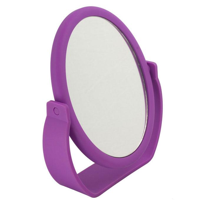 Beiron Зеркало косметическое, настольное, двустороннее. 530-2939530-2939Косметическое зеркало Beiron в пластиковой оправе идеально подходит для утреннего туалета и макияжа, где бы вы ни были. С одной стороны обычное зеркало, с другой - с 5-ти кратным увеличением. Характеристики: Материал: пластик, стекло. Размер зеркала: 13 см х 16,5 см. Размер корпуса: 18 см х 5 см х 21 см. Артикул: 530-2939. Производитель: КНР. Товар сертифицирован.