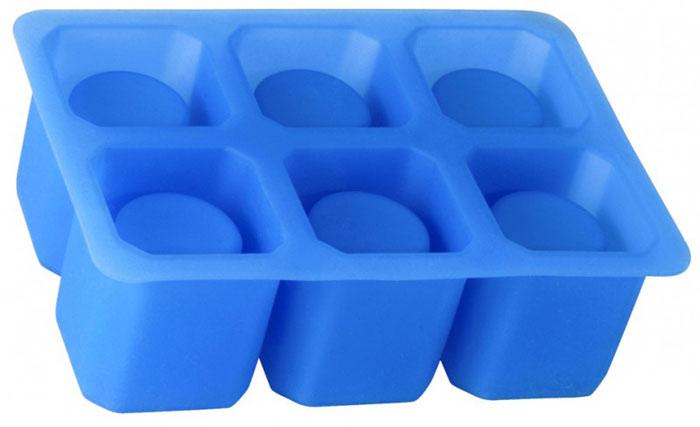 Форма для изготовления ледяных стопок Silicone, 6 ячеек93-SI-FO-31Форма Linea Silicone выполнена из силикона и предназначена для изготовления шести ледяных стопок. Оригинальный способ подачи напитков позволит провести незабываемый вечер в кругу друзей. Способ применения: заполните форму питьевой водой и поместите в морозильную камеру. Ледяные стопки легко извлекаются из формы после замерзания воды. Силиконовые формы выдерживают высокие и низкие температуры (от -40°С до +230°С). Они эластичны, износостойки, легко моются, не горят и не тлеют, не впитывают запахи, не оставляют пятен. Силикон абсолютно безвреден для здоровья. Не используйте моющие средства, содержащие абразивы. Можно мыть в посудомоечной машине. Характеристики: Материал: силикон. Объем 1 стопки: 30 мл. Размер формы: 16 см х 11 см х 5 см. Цвет: синий. Артикул: 93-SI-FO-31.