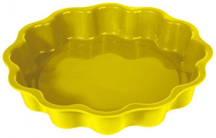 Форма для выпечки и заморозки Солнышко, силиконовая, цвет: жёлтый, диаметр 27 см93-SI-FO-33Форма для выпечки и заморозки Солнышко выполнена из силикона и предназначена для изготовления выпечки, конфет, мармелада, желе, льда и даже мыла. С помощью формы в виде яркого солнышка любой день можно превратить в праздник и порадовать детей. Силиконовые формы выдерживают высокие и низкие температуры (от -40°С до +230°С). Они эластичны, износостойки, легко моются, не горят и не тлеют, не впитывают запахи, не оставляют пятен. Силикон абсолютно безвреден для здоровья. Не используйте моющие средства, содержащие абразивы. Можно мыть в посудомоечной машине. Подходит для использования во всех типах печей. Характеристики: Материал: силикон. Общий размер формы: 27 см х 27 см х 4,5 см. Размер упаковки: 37 см х 31 см х 5 см. Изготовитель: Италия. Артикул: 93-SI-FO-33.