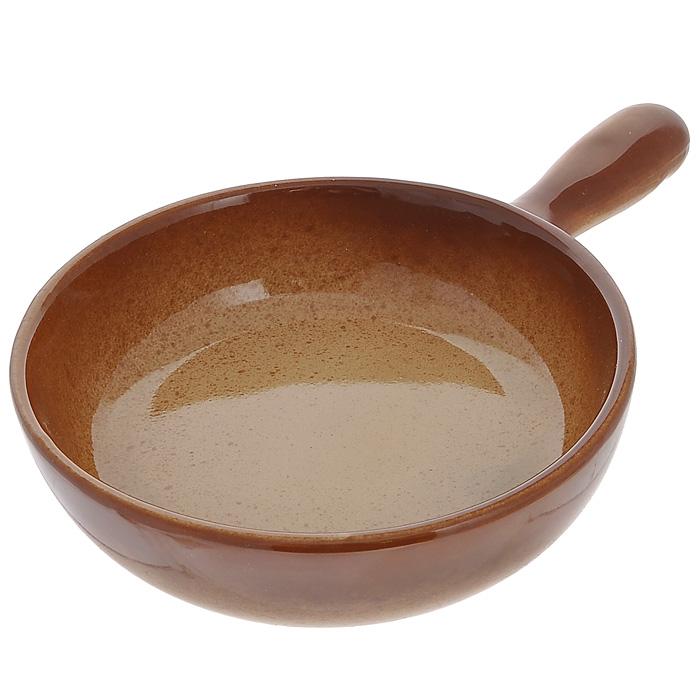 Сковорода Pekorino. Диаметр 18 см588-021Сковорода Pekorino изготовлена из высококачественной жаропрочной керамики, которая прекрасно сохраняет температуру и идеально подходит для блюд, требующих длительного приготовления. Подходит для использования в духовом шкафу, микроволновой или конвекционной печи. Сковорода является экологически безопасной, так как не содержит кадмия и свинца. Не рекомендуется ставить на открытый огонь. Характеристики: Материал: керамика. Диаметр сковороды: 18 см. Диаметр диска сковороды: 15 см. Высота стенки сковороды: 5 см. Длина ручки: 9,5 см. Размер упаковки: 27 см х 19 см х 5 см. Производитель: Китай. Артикул: 588-021.