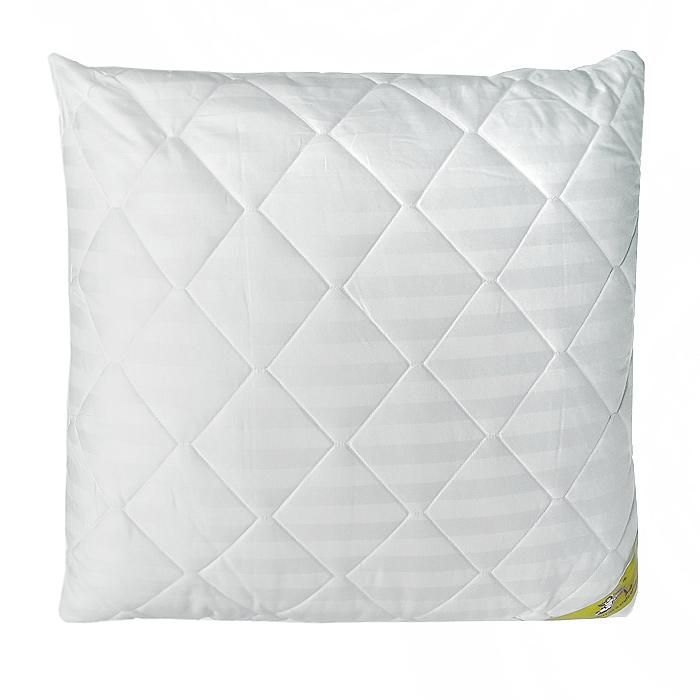 """Soft Line Подушка """"SL"""", цвет: белый, наполнитель: бамбуковое волокно, 70 х 70 см. 20008"""