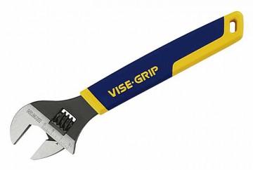 Ключ разводной Irwin Vise-Grip, 30 см, 0-38 мм98293777Ключ разводной Irwin Vise-Grip предназначен для отвинчивания и завинчивания гаек, болтов, винтов и других резьбовых соединений, при выполнении различных слесарно-монтажных работ. Ключ снабжен мерной шкалой. Имеет удобную нескользящую ручку из термопластмассы. Характеристики: Материал:сталь, пластик. Размер ключа:30 см х 9 см х 2 см. Максимальный захват: 3,8 см. Размер ручки: 21 см х 3,5 см х 2 см. Размер упаковки: 37 см х 10,5 см х 2 см.
