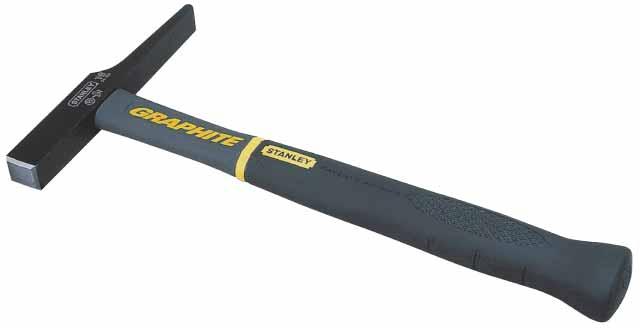 Молоток электрика Stanley Graphite, 200 г1-54-904Молоток электрика Stanley Graphite-это очень удобный в обращении инструмент с отличным балансом. Рукоятка содержит внутри графитовый стержень и не может быть отделена от головки благодаря неразрушаемому соединению. Характеристики: Материал: металл, пластик, резина. Размер молотка: 28,5 см х 14 см х 3 см. Размер ручки: 26,5 см х 3,5 см х 3 см. Вес: 200 г. Размеры упаковки: 28,5 см х 14 см х 3 см.