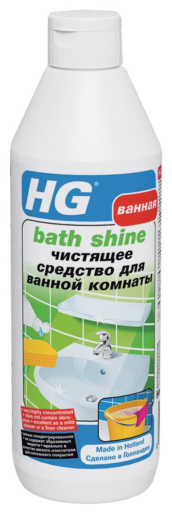 Чистящее средство HG для ванной комнаты, 500 мл145050161Эффективное средство мгновенно восстанавливает блеск сантехники, удаляет жировые пятна, мыльные разводы и легкий налет. Идеально подходит для глянцевых, эмалированных, хромированных, пластмассовых и окрашенных поверхностей. Не вызывает обесцвечивания поверхности и не оставляет разводов. При регулярном использовании предотвращает образование известкового налета. Не содержит абразивы. Обладает приятным запахом, экономично в использовании. Применение: для сантехники, плитки. Инструкция по применению: Для придания блеска нанесите несколько капель средства на влажную губку и протрите поверхность. Для очистки выдавите небольшое количество средства непосредственно на поверхность и потрите мокрой губкой. После применения средства поверхность необходимо промыть чистой водой. Характеристики: Объем: 500 мл. Изготовитель: Нидерланды. Артикул: 145050161.