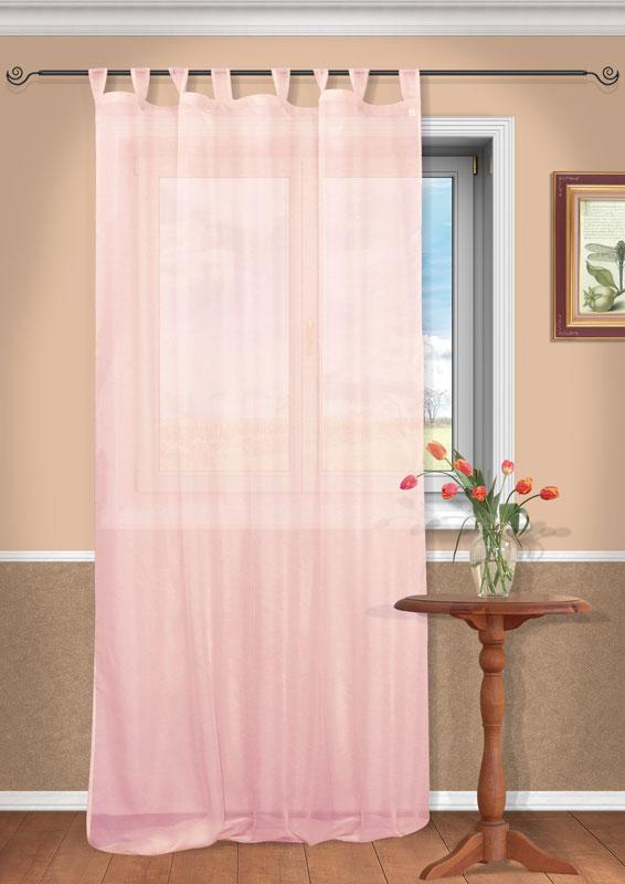 Штора Kauffort Анастасия, на петлях, цвет: розовый, высота 290 смUN111400171Воздушная штора Kauffort Анастасия, выполненная из полупрозрачной вуали розового цвета, станет великолепным украшением любого окна. Тонкое плетение и нежная цветовая гамма привлекут к себе внимание и органично впишутся в интерьер помещения. Штора оснащена петлями для крепления на круглый карниз и шторной лентой для красивой сборки. Характеристики: Материал: 100% полиэстер. Цвет: розовый. Размер упаковки: 37 см х 27 см х 2 см. Артикул: UN111400171. В комплект входит: Штора - 1 шт. Размер (Ш х В): 150 см х 290 см (отклонение размера ~ 1,5%).