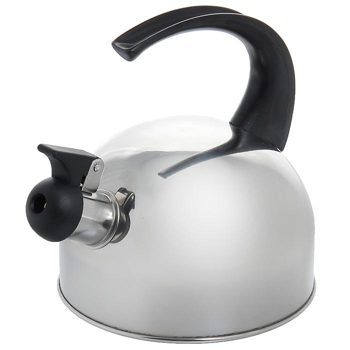 Чайник Appetite со свистком, 1,5 л. HSK-071HSK-071Чайник Appetite изготовлен из высококачественной нержавеющей стали с 3-х слойным термоаккумулирующим дном. Нержавеющая сталь обладает высокой устойчивостью к коррозии, не вступает в реакцию с холодными и горячими продуктами и полностью сохраняет их вкусовые качества. Особая конструкция дна способствует высокой теплопроводности и равномерному распределению тепла. Чайник оснащен черной пластиковой удобной ручкой. Носик чайника имеет откидной свисток, звуковой сигнал которого подскажет, когда закипит вода. Чайник Appetite пригоден для использования на всех видах плит, кроме индукционных. Можно мыть в посудомоечной машине. Характеристики: Материал: нержавеющая сталь, пластик. Объем: 1,5 л. Диаметр основания чайника: 16 см. Высота чайника (с учетом ручки): 18 см. Размер упаковки: 18,5 см х 16,5 см х 16,5 см. Артикул: HSK-071.