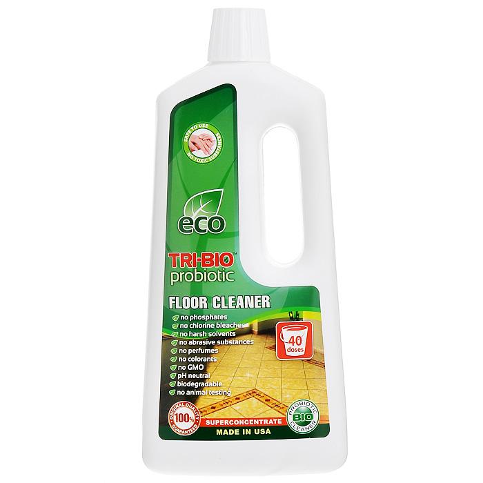 Биосредство для мытья полов Tri-Bio, 940 мл0026Биосредство Tri-Bio эффективно моет любые виды полов - линолеум, камень, керамическую плитку, ламинит, паркет, и т. п., не оставляя разводов. Справится даже с самыми сильными загрязнениями. Ликвидирует неприятные запахи. Обладает освежающим эффектом. Бережно ухаживает за полом, продлевая срок его службы. В отличие от стандартных химических продуктов, легко проникает в швы, позволяет обеспечить более длительный контроль запаха и более глубокую чистку. Особенности биосредства Tri-Bio для здоровья: Без фосфатов, без растворителей, без хлора отбеливающих веществ, без абразивных веществ, без отдушек, без красителей, без токсичных веществ, нейтральный pH, гипоаллергенно. Безопасная альтернатива химическим аналогам. Присвоен сертификат ECO GREEN. Рекомендуется для людей склонных к аллергическим реакциям и страдающих астмой. Особенности биосредства Tri-Bio для окружающей среды: низкий уровень ЛОС, легко биоразлагаемо, минимальное влияние на водные организмы,...