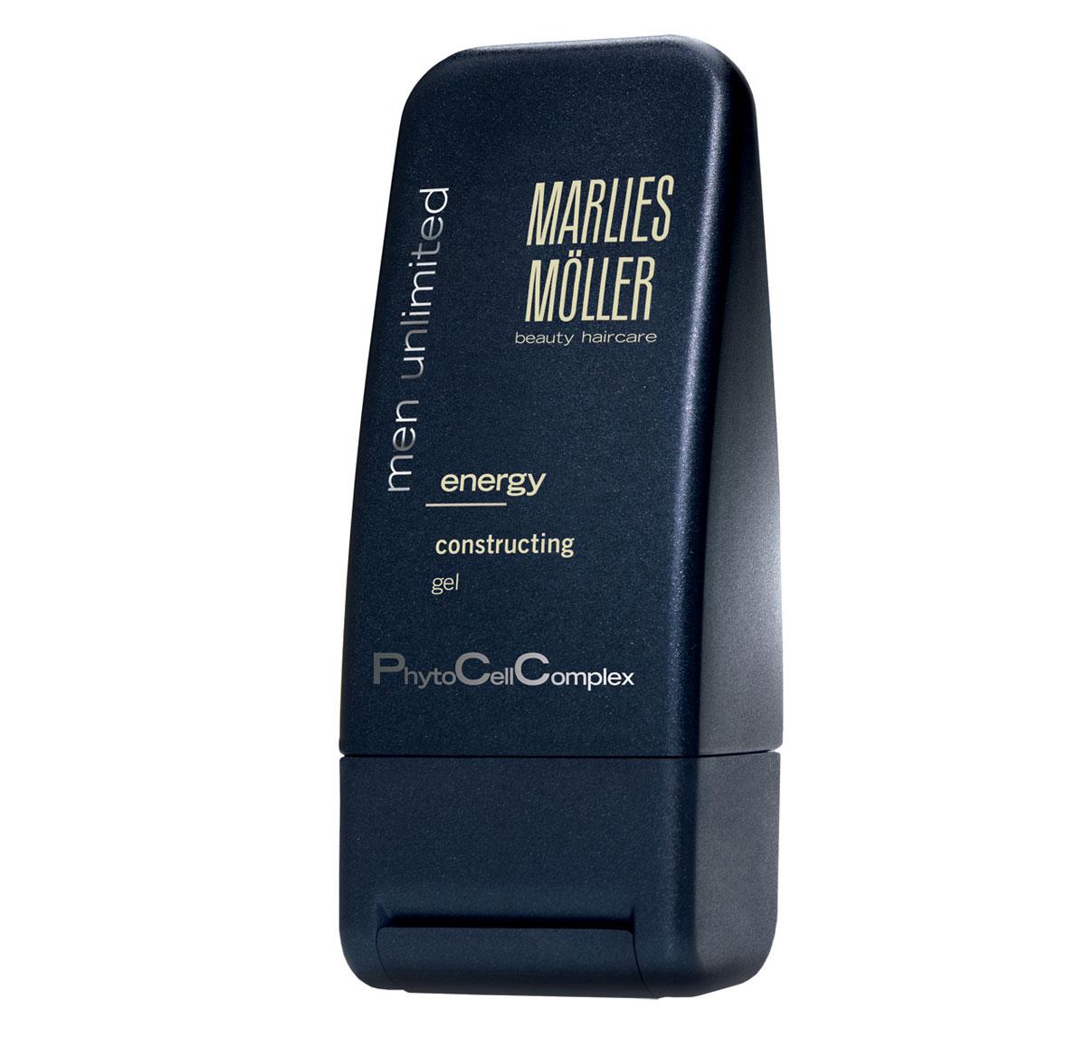 Marlies Moller Структурирующий гель для укладки волос Men Unlimited, для мужчин, 100 млБ33041_шампунь-барбарис и липа, скраб -черная смородинаГель рекомендуется для любого стиля, для любого типа волос. Придает волосам силу и обеспечивает естественную фиксацию. Сохраняет гибкость укладки, не склеивает волосы. Легко удаляется при расчесывании. Защищает от повреждающего действия УФ лучей и свободных радикалов. Обеспечивает волосам дополнительное увлажнение. Гель легко распределяется по волосам, имеет нелипкую текстуру, не утяжеляет волосы, полностью и легко смывается. Профессиональный совет: наносите гель на влажные волосы для создания современного делового стиля. Предварительно подсушите волосы полотенцем, затем часть волос, в зависимости от Ваших предпочтений, расчешите в нужном направлении. Нанесите на ладонь небольшое количество геля (размером с грецкий орех) и придайте форму прическе. Закрепите фиксацию с помощью теплового воздействия фена. Можно наносить гель на сухие волосы для создания спортивного стиля. Нанесите гель на ладони и взъерошьте сухие волосы руками. Затем возьмите еще немного средства и придайте форму отдельным прядям.Возьмите небольшое количество средства. В зависимости от желаемого эффекта нанесите на сухие или подсушенные полотенцем волосы. Уложите как обычно.