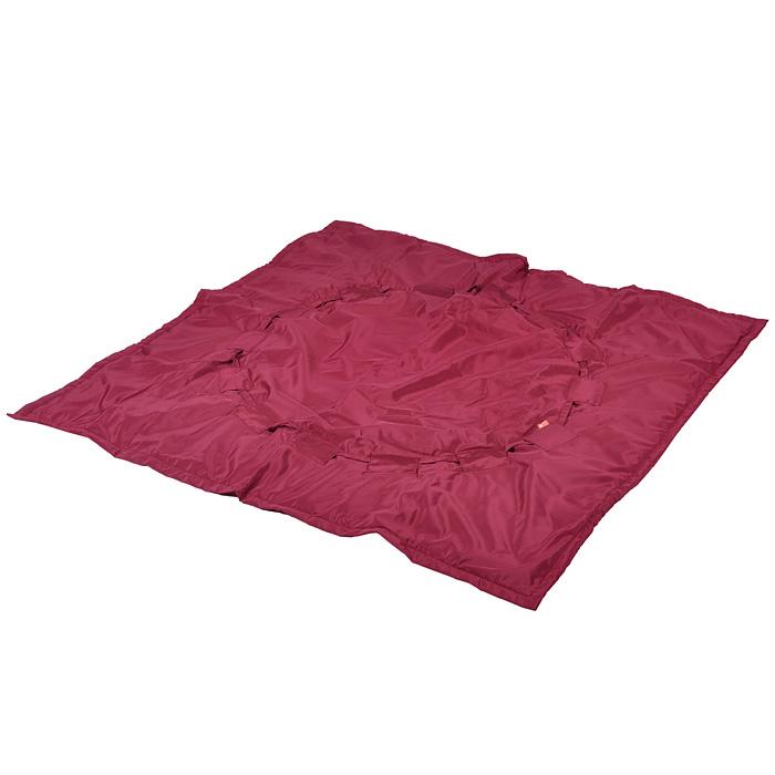 """Переносной коврик-сумка """"Чудо-Чадо"""", цвет: бордовый KTR02-019"""