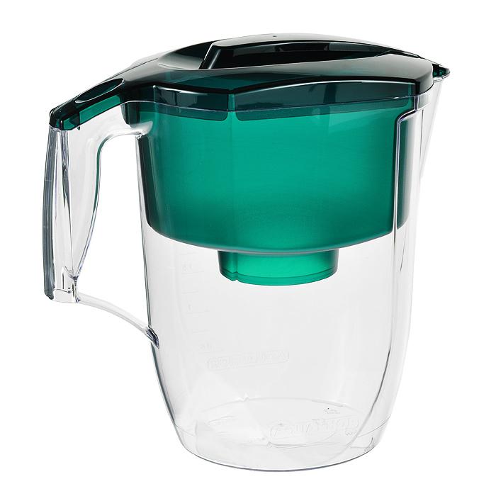 """Фильтр-кувшин для воды Аквафор """"Гарри"""", цвет: зеленый, 3,9 л 45229"""