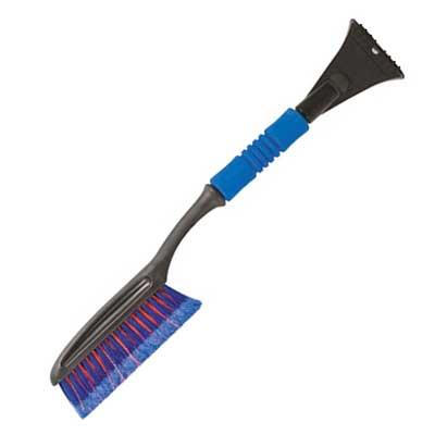 Щетка-скребок для уборки снега Fit, цвет: синий, красный, 63 см68011Щетка-скребок Fit для удаления снега и льда. Антискользящая мягкая рукоятка. Трехрядная щетина, расщепленная на концах не повреждает лакокрасочное покрытие автомобиля. Характеристики: Материал: пластик. Длина щетины: 24 см. Размер щетки: 63 см х 11 см х 4 см. Размер упаковки: 63 см x 21 см x 4 см. Артикул: 68011.