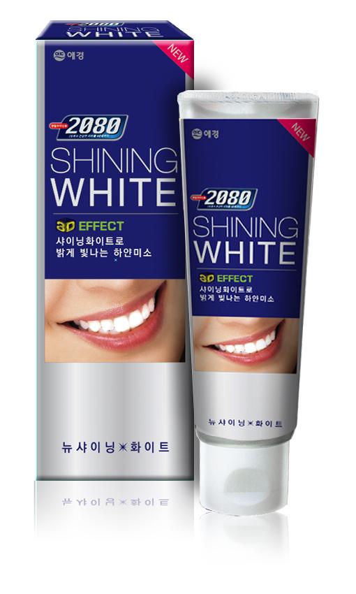 Зубная паста 2080 Сияющая белизна, отбеливающая, 100 гSC-FM20101Зубная паста 2080 Сияющая белизна с системой бережного отбеливания освежает дыхание, укрепляет зубы. Комплексный уход за полостью рта и бережное отбеливание. УВАЖАЕМЫЕ КЛИЕНТЫ!Обращаем ваше внимание на возможные изменения в дизайне упаковки. Поставка осуществляется в одном из двух приведенных вариантов упаковок в зависимости от наличия на складе. Комплектация осталась без изменений. Характеристики: Вес: 100 г. Артикул: 895184. Товар сертифицирован.