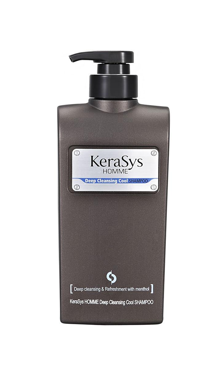 Шампунь KeraSys для волос, освежающий, для мужчин, 550 мл877388Освежающий шампунь KeraSys предназначен для мужчин. Очищение: эффективно удаляет с волос пыль городских улиц, пот, неприятный запах. Охлаждающий эффект: натуральный экстракт мяты дарит приятное чувство прохлады, заряжает энергией. Основа для укладки: отличная основа для стайлинга. Объем: 550 мл. Артикул: 7388.