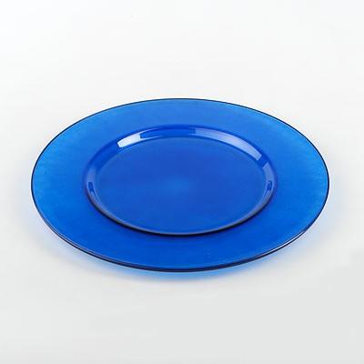 Блюдо Workshop Arte, цвет: синий, диаметр 35 см54253BLИзящное блюдо Workshop Arte, выполненное из прочного натрий-кальций-силикатного стекла синего цвета, станет чудесным украшением любого праздничного стола. Красочность оформления придется по вкусу и ценителям классики, и тем, кто предпочитает утонченность и изысканность. Блюдо Workshop Arte идеально подойдет для сервировки стола и станет отличным подарком к любому празднику. Характеристики: Материал: натрий-кальций-силикатное стекло. Диаметр: 35 см. Цвет: синий. Размер упаковки: 35 см х 36 см х 2 см. Артикул: 54253BL.