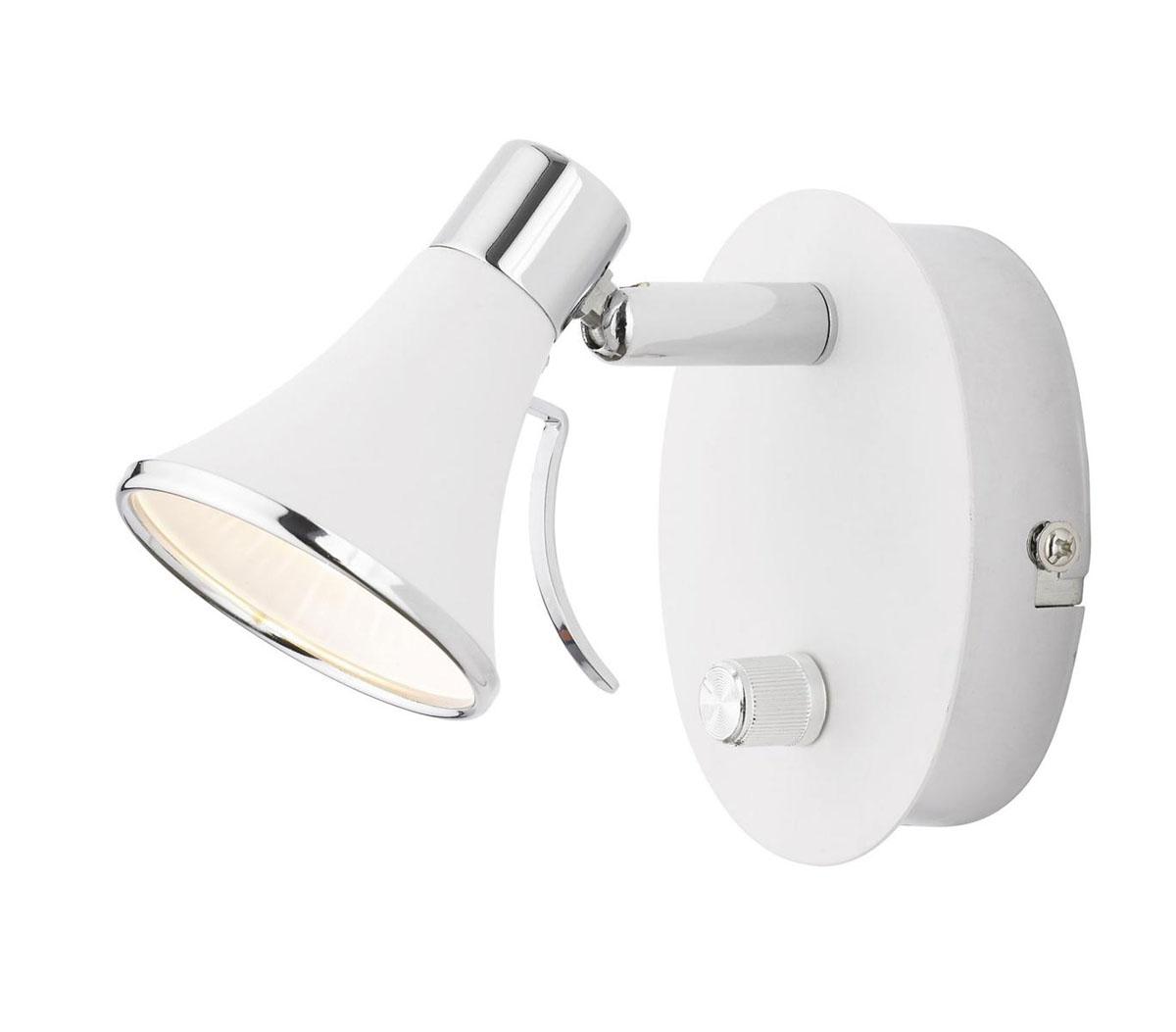 Светильник настенный LampGustaf Boston, цвет: белый. 081802
