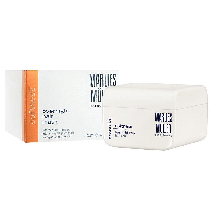 Marlies Moller Маска Softness для гладкости волос, интенсивная, 125 мл25660MMsМаска рекомендуется для жестких, непослушных и толстых волос. Она мгновенно придает волосам мягкость, шелковистую гладкость и блеск. Интенсивно ухаживает за волосами по всей длине. Насыщает волосы питательными компонентами. Восстанавливает структуру волос. Защищает от высокой температуры и УФ излучения. Премиальный уход с профессиональным эффектом. Высокая концентрация активных компонентов. Мягкое средство без силиконов, позволяет частое применение. Уникальность маски заключается не только в эффекте, который она оказывает на волосы, но и в способах нанесения, их три. Можно вечером нанести маску тонким слоем и оставить на всю ночь (не пачкает подушку). Можно утром нанесите небольшое количество маски на сухие волосы, дать впитаться (1-2 минуты). Если волосы вьются - сначала эффект мокрых волос, когда впитается - ухоженные кудри. Маска совершенно незаметна на волосах и будет весь день интенсивно ухаживать и защищать Ваши волосы. Можно нанести маску перед мытьем на сухие волосы,...